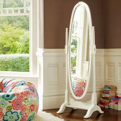 PB Teen Lilac Floor Mirror