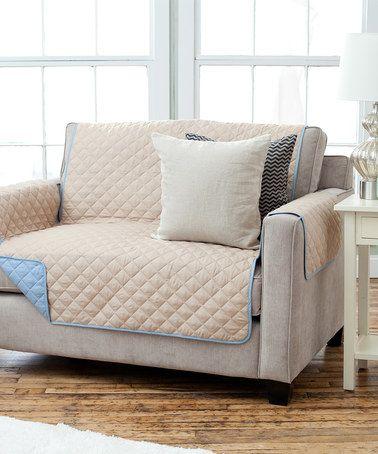 Look at this #zulilyfind! Marine & Linen Reversible Furniture Protector #zulilyfinds