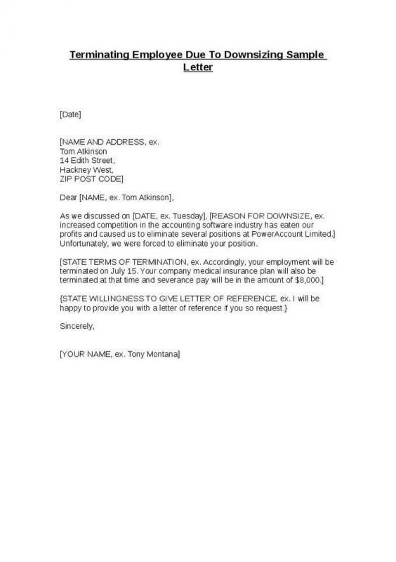 Termination Letter California Dengan Gambar