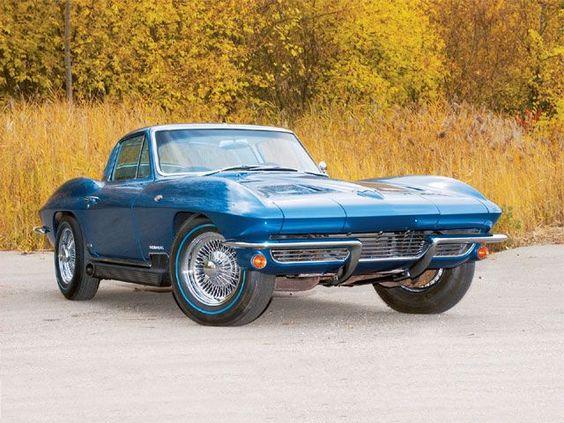 1964 Chevrolet Corvette Pearlescent Blue