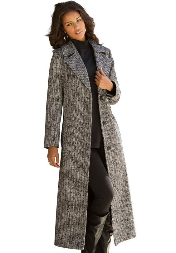 long-wool-coat-for-girls-collection | Long Coat | Pinterest