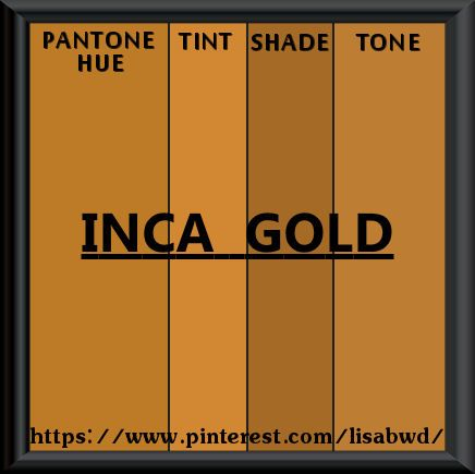 Inka Gold Color Chart Rebellions