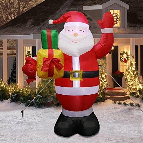 Buy Ourwarm 5ft Christmas Inflatables Lighted Santa Claus Blow Up Yard Decorations For Indoor And Outdoor Garden Lawn Christmas Decorations Online At Low Prices Inflatable Christmas Decorations Christmas Decorations Clearance Christmas