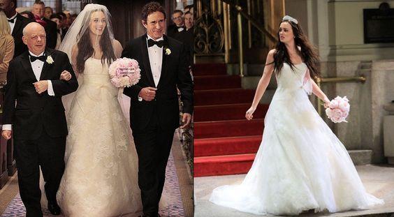 JULES FASHION: - Blair Waldorf va tenter de se marier dans une robe Vera Wang !