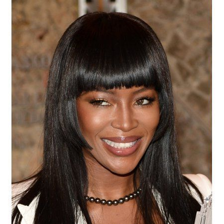 Naomi Campbell At A Public Appearance For Naomi Campbell To Light The Empire State Building In Honor Of Red Nose Day Canvas Art - (16 x 20)