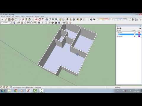 Como Usar Capas O Layers En Sketchup Youtube Disenos De Unas Capas Diseño Grafico