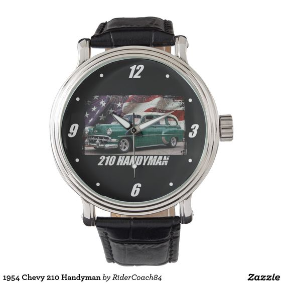 1954 Chevy 210 Handyman Wrist Watches