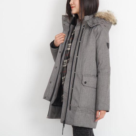 Womens Banff Down Parka | Roots | clothes | Pinterest | Parkas