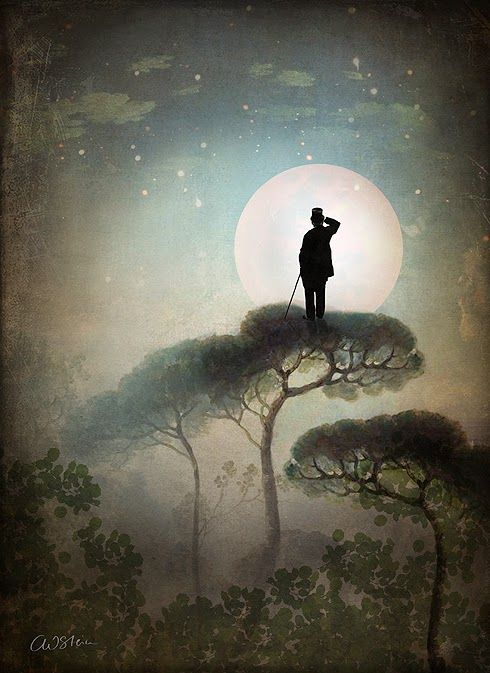 Catrin Welz-Stein: The Man in the Moon:
