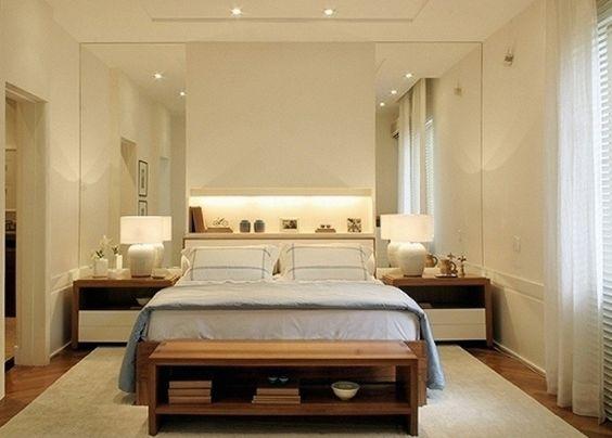 cabeceiras quarto de casal arquitetura - Pesquisa Google