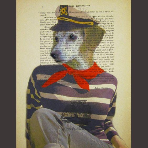 Sailor Dog by Coco De Paris