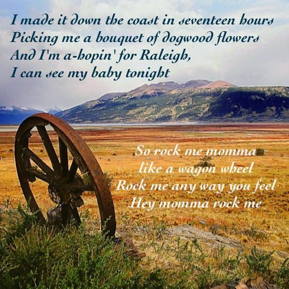 """""""Wagon Wheel"""" ~ Old Crow and Darius's cover"""
