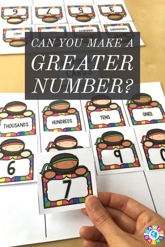 This FREE place value game makes students use their knowledge of place value + higher order thinking skills in order to win!