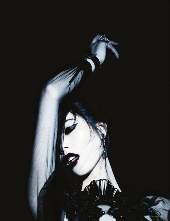 bohemea:    Liu Wen: Dark Mystery - Vogue Germany by Ben Hassett, September 2012