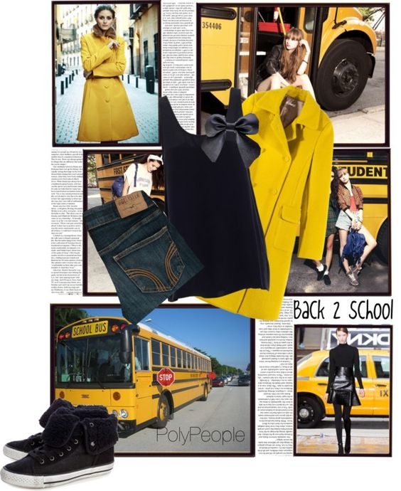 """Back to school"" by niniwa ❤ liked on Polyvore"