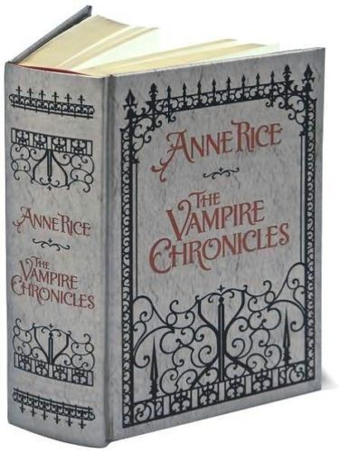 THE-VAMPIRE-CHRONICLES-by-ANNE-RICE-LEATHERBOUND-BRAND-NEW