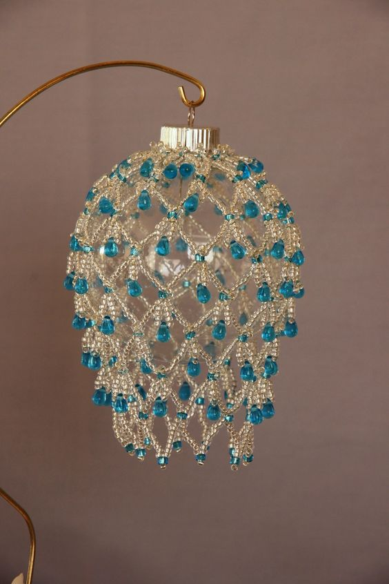 Free Seed Bead Ornament Patterns | Desert Beads: