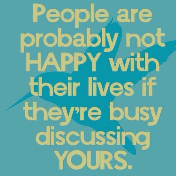 Gossip...