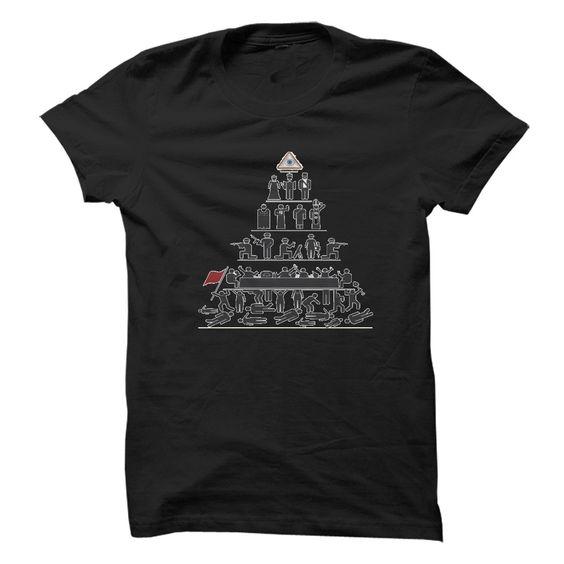 Piramid of Power T Shirt, Hoodie, Sweatshirt