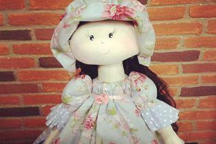 22/08/2014  Boneca Melaine –  Silvia Torres