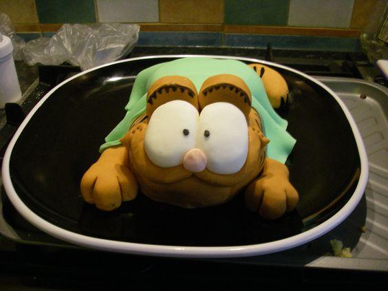Garfield - inspired by Debbie Brown