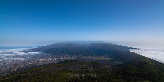 View above La Palma