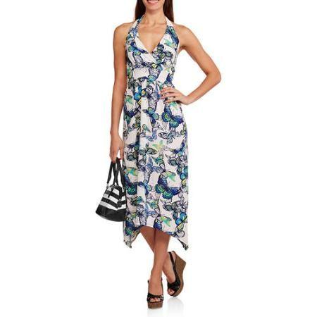 French Laundry Women's Matte Jersey Halter Dress - Walmart.com