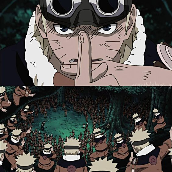 """⠀ Legendary moment  ⠀ QOTD: When did you start reading/watching Naruto? ⠀ 》originally episode 1 of Naruto, ⠀ ⠀ screenshots from episode 327 ✊ ⠀ ⠀…"""