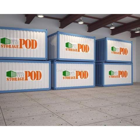 Portable Self Storage Pod 10x15 Steel Storage Buildings Shipping Container Sea Can Greenterrahomes Storage Pods Steel Storage Buildings Container House