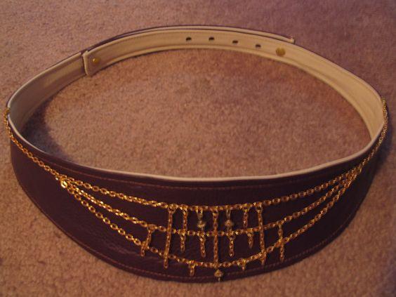 """Matteis"" Reversible belt with detactable decoration."