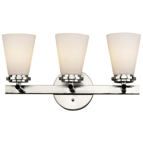 Forecast Town and Country 18 Wide Nickel Bathroom Light