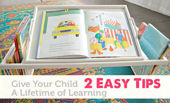 Two easy gifts to encourage a lifetime of learning.