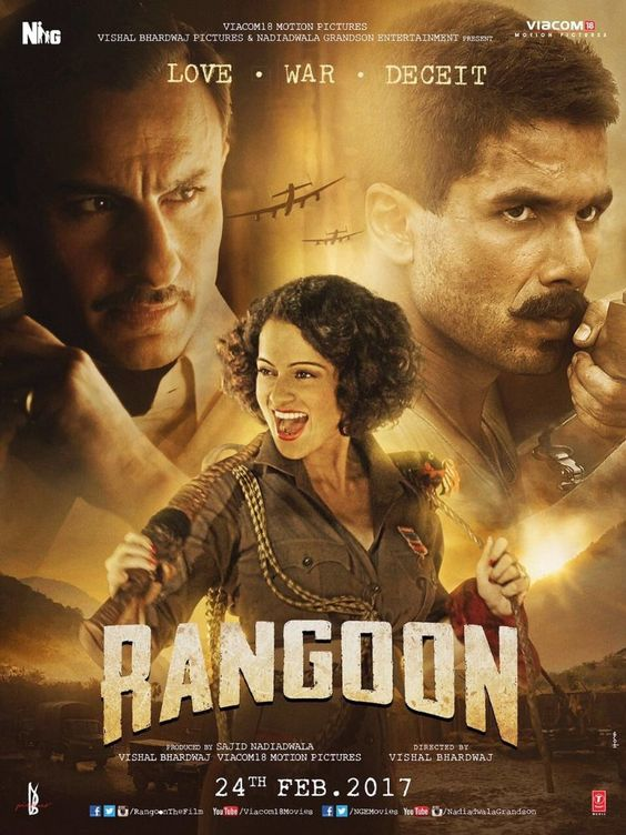 Rangoon (2017) BluRay