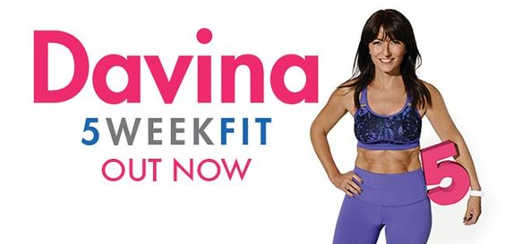 British TV personality, Davina McCall latest DVD...