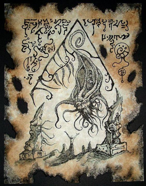 El Necronomicón,un libro salido de los infiernos F43b71c9d294176dd72e10807b6d40c2