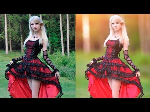 How to Blur background with Soft Light effect in Photoshop | Tutorials Junction