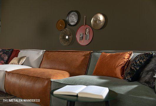 Wanddecoratie Inspiratie Lente Interieur Tropische Kleuren Interieur