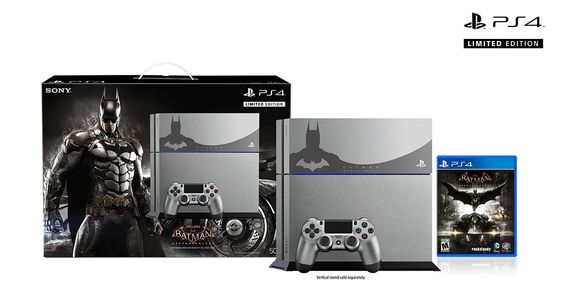Limited Edition Batman: Arkham Knight Playstation 4 unveiled #batman #arkhamknight #ps4 #limitededition #gaming #news #vgchest