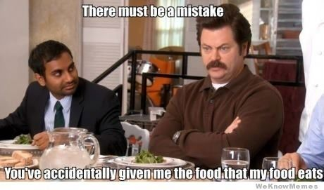 This description of salads. | 23 Times Ron Swanson Was Inarguably Right About The World: