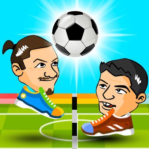 لعبة كرة القدم بالرأس متعددة اللاعبين Head Soccer 2 Player Football Vault Boy Soccer Ball