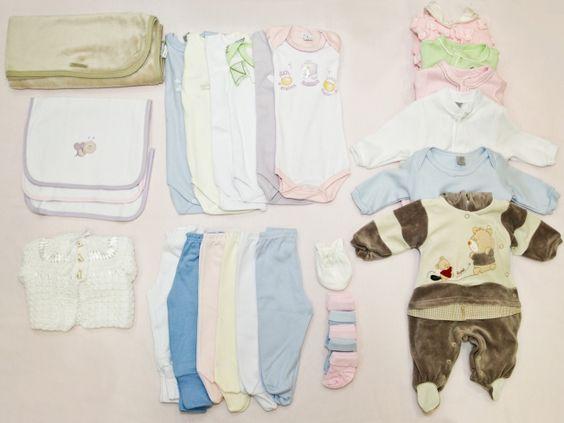 Itens Da Mala De Maternidade Para O Bebe Organize As Mudas