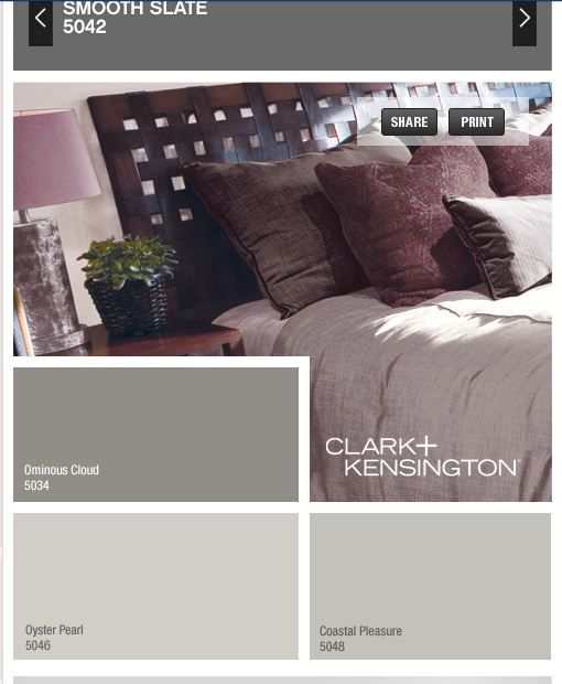 Ace Hardware Clark Kensington paint and primer in one. Nice color scheme for dining room, living room, halls, and foyer of the new house
