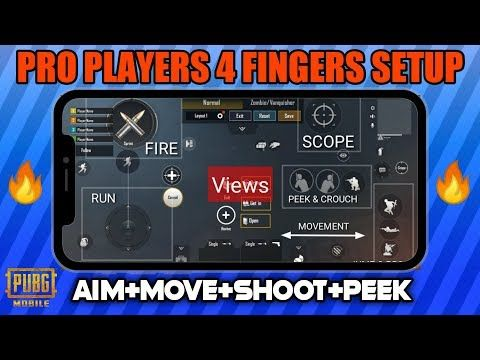 Pubg 4 Fingers Claw Setting This Claw Setting Make A Pro Player On Pubg Mobile Youtube Mobile Tricks Mobile Phone Game Mobile Skin