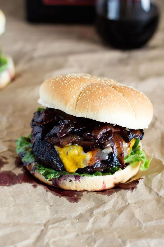 Spiked Cheeseburgers Recipe — Dishmaps