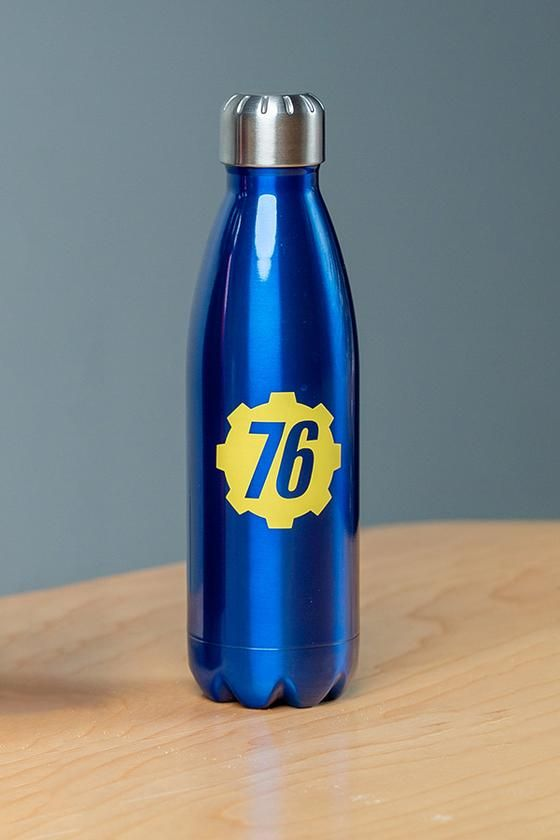 Vault 76 Stainless Steel Water Bottle Bottle Water Bottle Stainless Steel Water Bottle