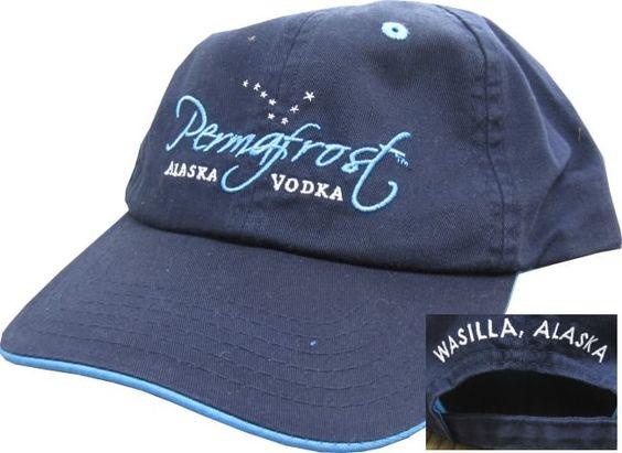 permafrost alaska vodka baseball cap products i