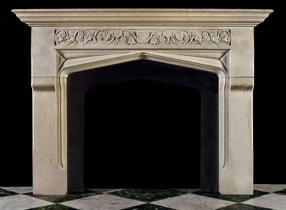 Pinterest the world s catalog of ideas for Tudor style fireplace