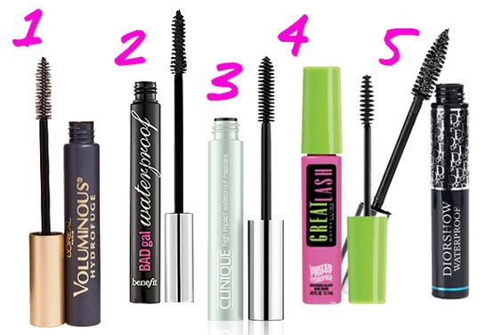 The Best Waterproof Mascaras!