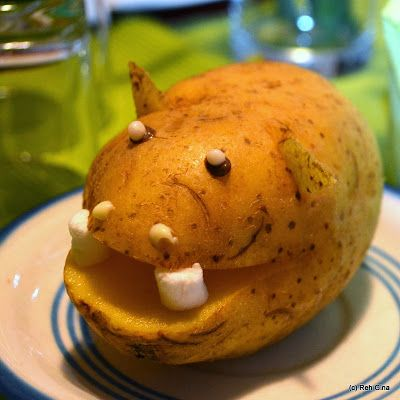 """Potatopotamus (inspired by """"Cloudy with a chance of meatballs 2"""")"""