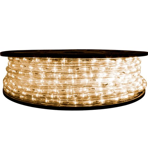 Warm White Led Rope Light 12 Volt 65 Feet Led Rope Lights Led Rope Rope Light